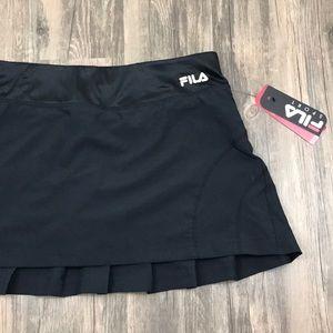 Fila Sport Black Workout Running Skirt Skort